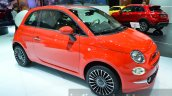 2016 Fiat 500 front three quarter right at IAA 2015