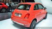 2016 Fiat 500 rear three quarter right at IAA 2015