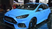 2016 Ford Focus RS front three quarters left at IAA 2015