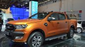 2016 Ford Ranger Wildtrak front three quarter at IAA 2015