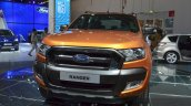 2016 Ford Ranger Wildtrak grille and headlamp at IAA 2015