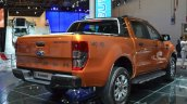 2016 Ford Ranger Wildtrak rear three quarters right at IAA 2015