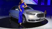 2016 Ford Taurus front fascia at the 2015 Chengdu Motor Show
