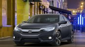 2016 Honda Civic Sedan front quarter unveiled