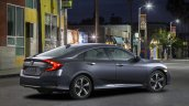 2016 Honda Civic Sedan rear three quarter unveiled