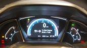 2016 Honda Civic cluster live images