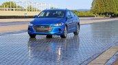 2016 Hyundai Elantra front press shots