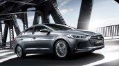2016 Hyundai Elantra front quarter press shots