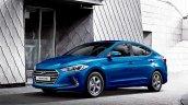 2016 Hyundai Elantra front three quarter press shots
