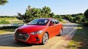 2016 Hyundai Elantra revealed press shots