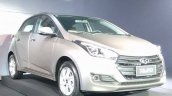 2016 Hyundai HB20 front three quarter unveiled in Brazil