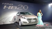 2016 Hyundai HB20 front unveiled in Brazil