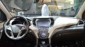 2016 Hyundai Santa Fe dashboard at the IAA 2015