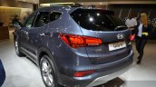 2016 Hyundai Santa Fe rear quarter at the IAA 2015