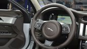 2016 Jaguar XF steering wheel at the IAA 2015