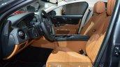 2016 Jaguar XJ front seats at IAA 2015