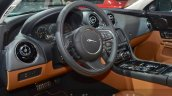 2016 Jaguar XJ steering wheel at IAA 2015