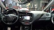 2016 Kia Ceed (facelift) dashboard interior at IAA 2015