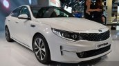2016 Kia Optima front three quarter right at IAA 2015