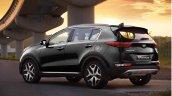 2016 Kia Sportage rear quarters press shots