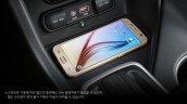 2016 Kia Sportage wireless charging press shots