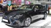 2016 Lexus GS 450h (facelift) front three quarter left at IAA 2015