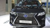 2016 Lexus RX450h front grille headlamp at IAA 2015