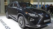2016 Lexus RX450h front three quarters at IAA 2015
