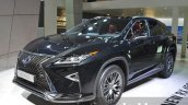 2016 Lexus RX450h front three quarters right at IAA 2015