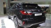 2016 Lexus RX450h rear three quarter left at IAA 2015