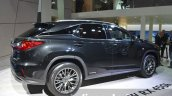 2016 Lexus RX450h rear three quarters at IAA 2015