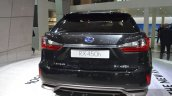 2016 Lexus RX450h taillamp bumper and exhaust at IAA 2015