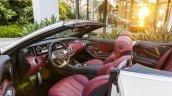 2016 Mercedes-AMG S 63 Cabriolet interior unveiled