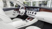 2016 Mercedes S Class Cabriolet interior unveiled