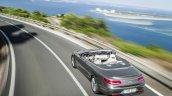 2016 Mercedes S Class Cabriolet rear quarter top unveiled