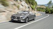 2016 Mercedes S Class Cabriolet rear quarter unveiled