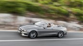 2016 Mercedes S Class Cabriolet side unveiled