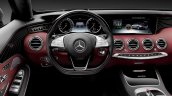 2016 Mercedes S Class Cabriolet steering wheel unveiled