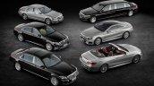 2016 Mercedes S Class range