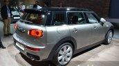 2016 Mini Clubman rear quarter silver at the IAA 2015