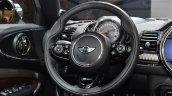 2016 Mini Clubman steering wheel at the IAA 2015