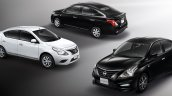 2016 Nissan Almera launched model range in Thailand