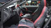 2016 Nissan GT-R Track Edition front cabin at the IAA 2015