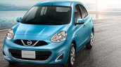 2016 Nissan March front launched in Thailand