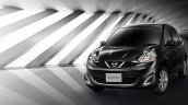 2016 Nissan March front quarter launched in Thailand