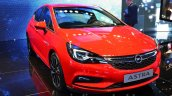 2016 Opel Astra front quarter at the IAA 2015