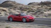 2016 Porsche 911 Carrera Cabriolet facelift side unveiled