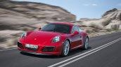 2016 Porsche 911 Carrera facelift front three quarter unveiled