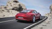 2016 Porsche 911 Carrera facelift rear three quarter unveiled