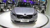 2016 Skoda Superb front at the 2015 Chengdu Motor Show
